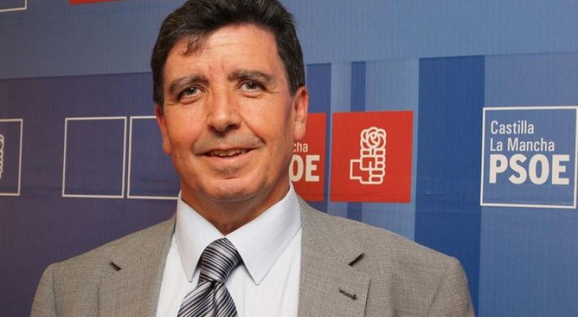 El portavoz de Agua de la dirección regional del PSOE de Castilla-La Mancha, Antonio Luengo.