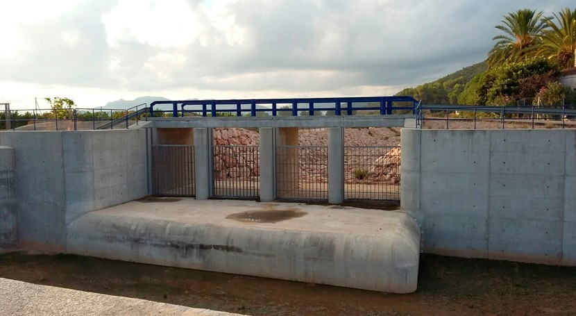 Finalizan obras disminuir efecto avenidas Oliva, Valencia