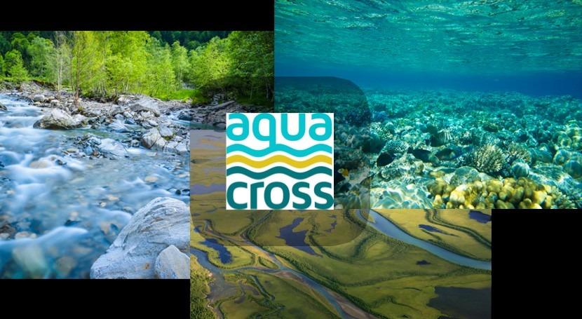 AQUACROSS: Desarrollo metodologías gestión ecosistemas acuáticos