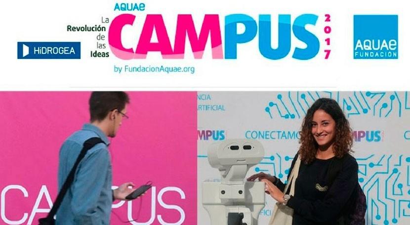 Ciencia, arte, innovación y mucho talento Aquae Campus 2017
