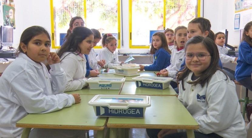 Aquae STEM, proyecto educativo Fundación Aquae, ya está integrado medio centenar colegios