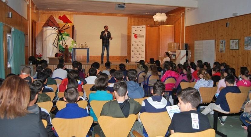 marcha Aquafresi, programa educativo Comunidad Regantes Palos Frontera