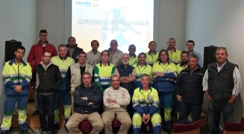 Aqualia colabora Ayuntamiento Morón formación materia PRL
