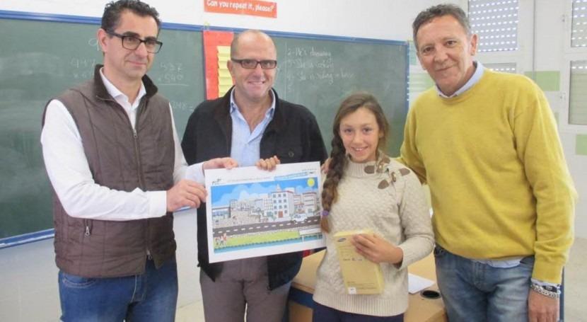 Aqualia celebra entrega premios XIII edición concurso dibujo Barbate