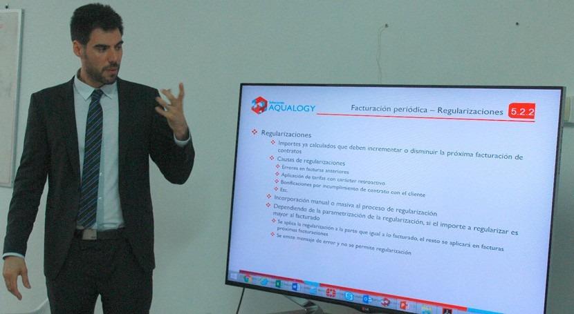 Consorcio Chileno Aqualogy continúa capacitaciones proceso reingeniería