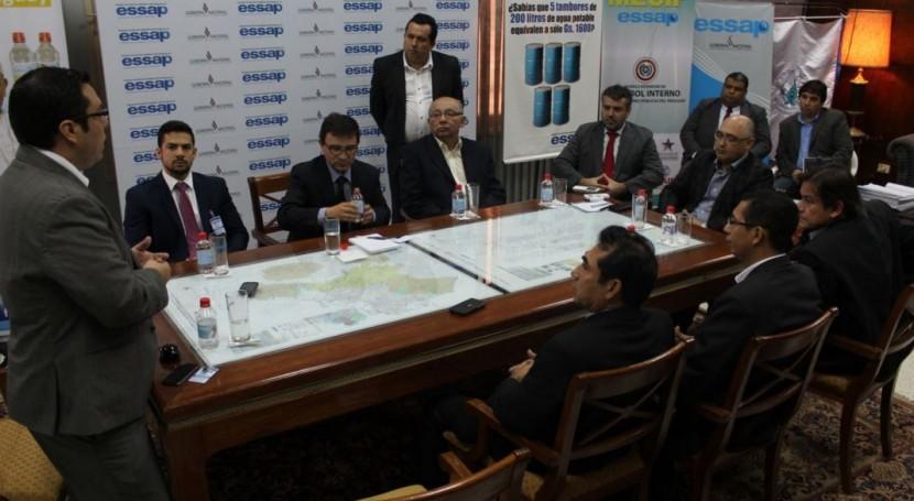 Aqualogy presenta ESSAP proyecto mejoramiento gestión comercial