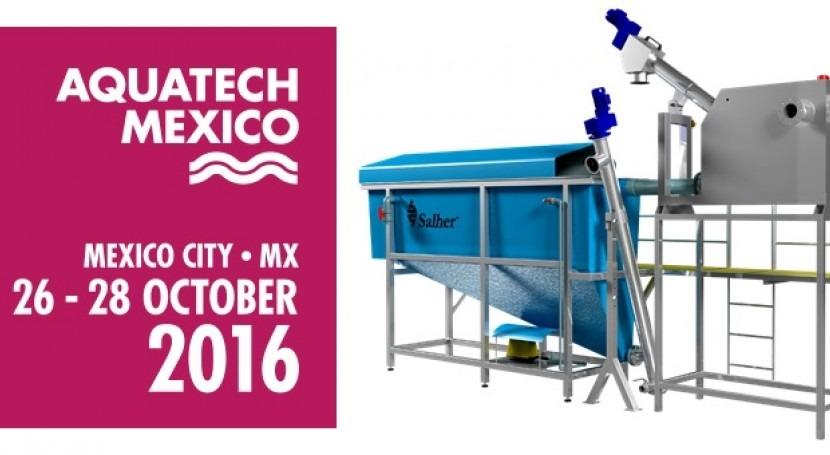 Salher presenta equipos mediante tecnología Realidad Virtual Aquatech México 2016