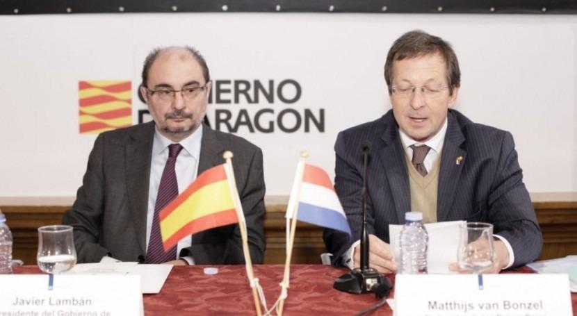 Holanda y Aragón aúnan esfuerzos combatir cambio climático y mejorar gestión suelos