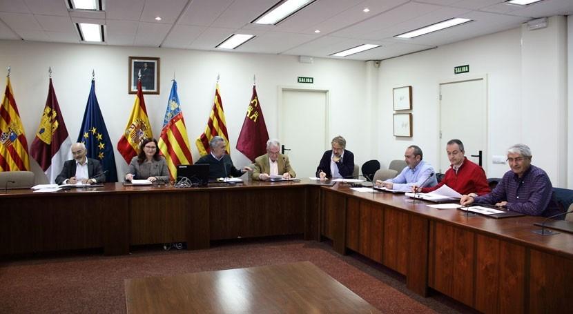 CHJ celebra Comisión Desembalse extraordinaria embalse Arquillo San Blas