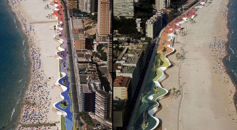 Frentes marítimos mejorados arquitectura