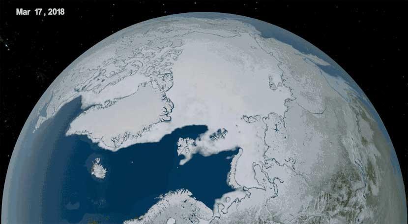 estudio, primer verano ártico hielo podría llegar partir 2030