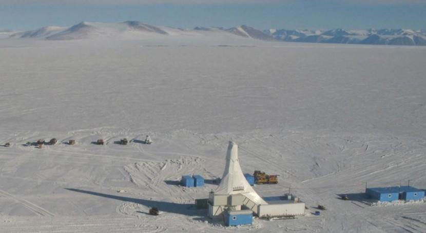 hielo Antártida es más vulnerable emisiones CO2 lo que se pensaba