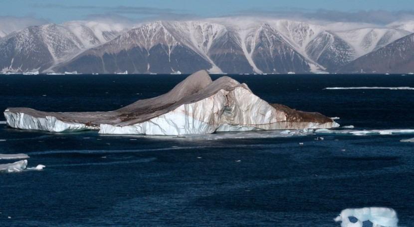 microbios aumentan velocidad que se funden glaciares Ártico