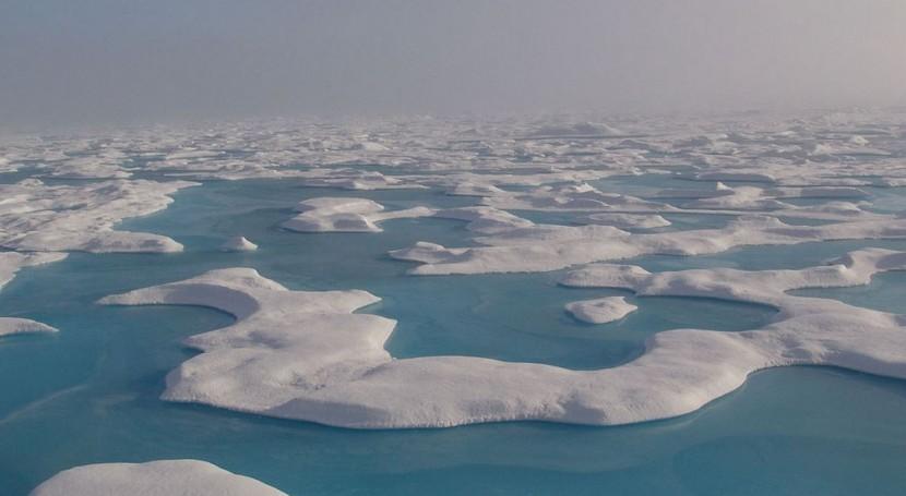 fusión hielo marino aumentará lluvias Ártico