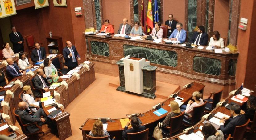 """Pedro Antonio Sánchez: """"Tenemos que conseguir que Mar Menor siga mejorando cada día"""""""