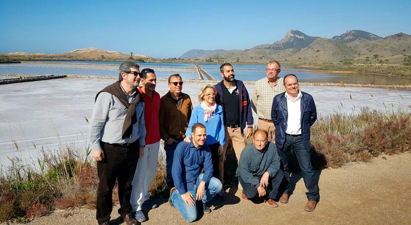 Murcia recuperará actividad salinera humedal Salinas Rasall