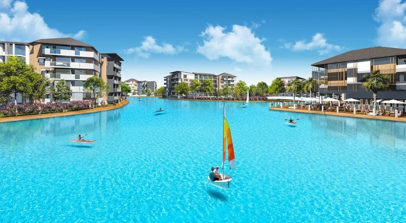 Australia contará primera laguna artificial Crystal Lagoons