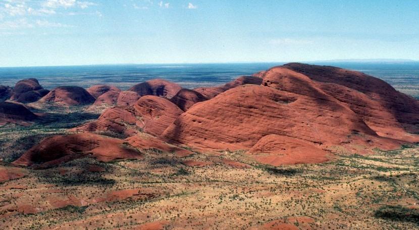 Desierto en Australia (Wikipedia/Robert Kerton).