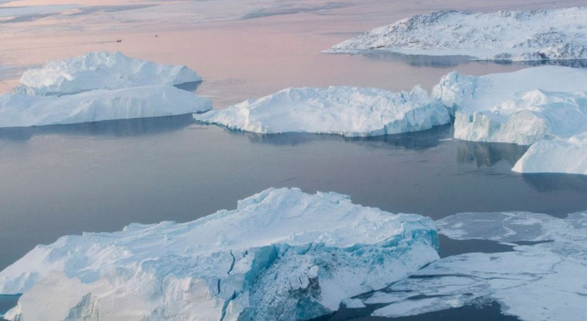 El iceberg Ilulissat, en Groenlandia (ONU).