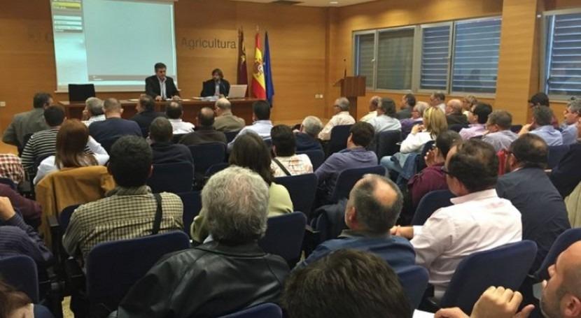 Murcia destinará 8 millones modernizar regadíos y aprovechar agua depurada 2017