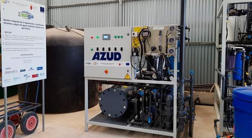 REUSAGUA: proyecto reutilización aguas riego