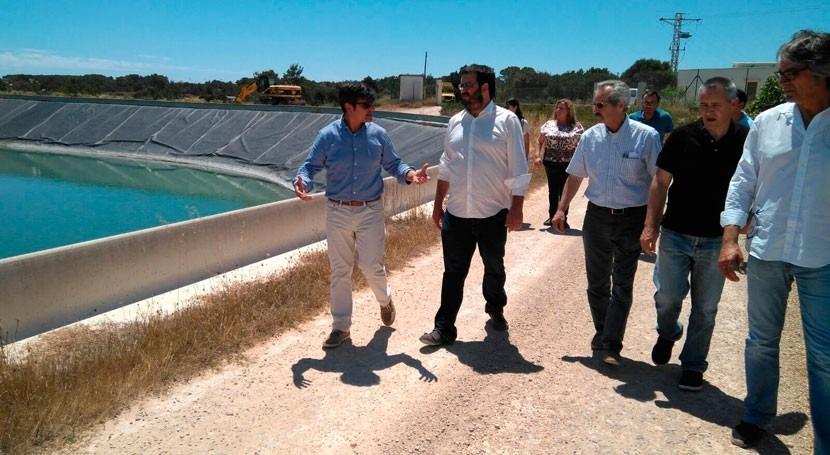 Gobierno balear pondrá marcha balsa riego Formentera cierre 2009