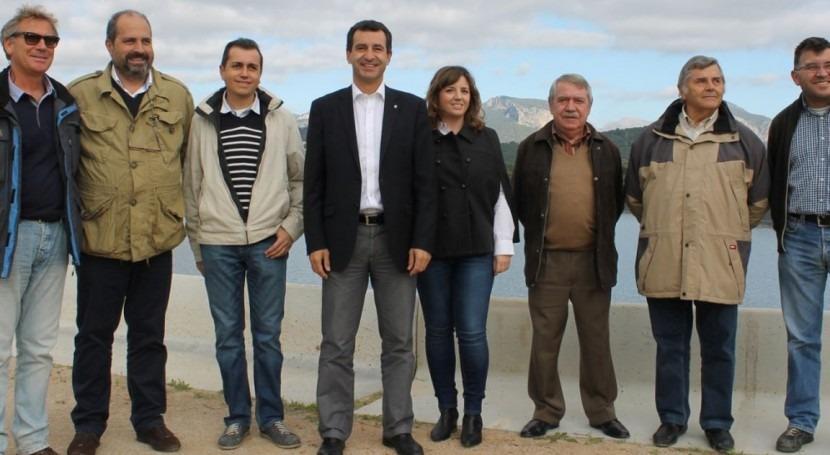 Consell y Alaró estrenan nueva balsa regadío