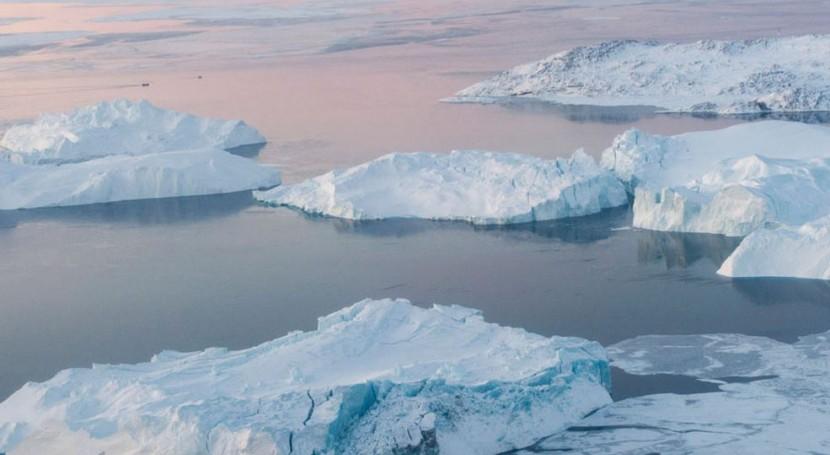 El iceberg Ilulissat, en Groenlandia (ONU)