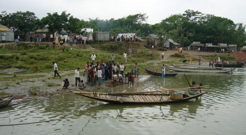 Bangladesh, al borde desnutrición causa inundaciones