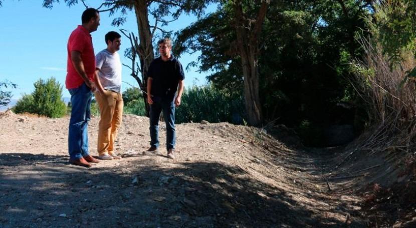 Adjudicada restauración barranco Calera Alhendín, Granada
