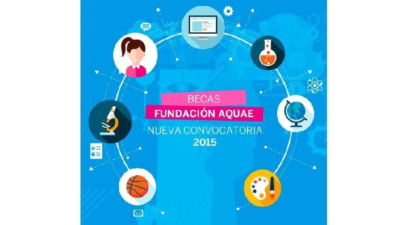 Éxito participación becas Aquae: 100% cubiertas