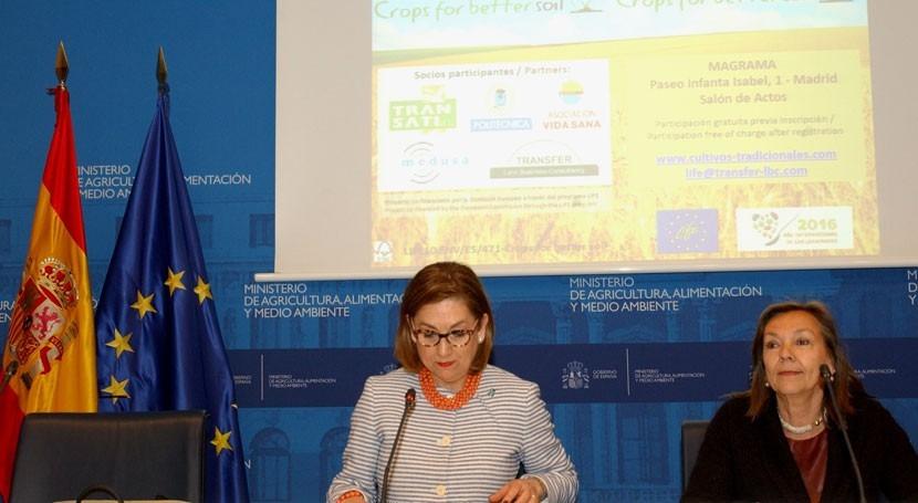 MAGRAMA promueve prácticas agrarias sostenibles mejor conservación suelo