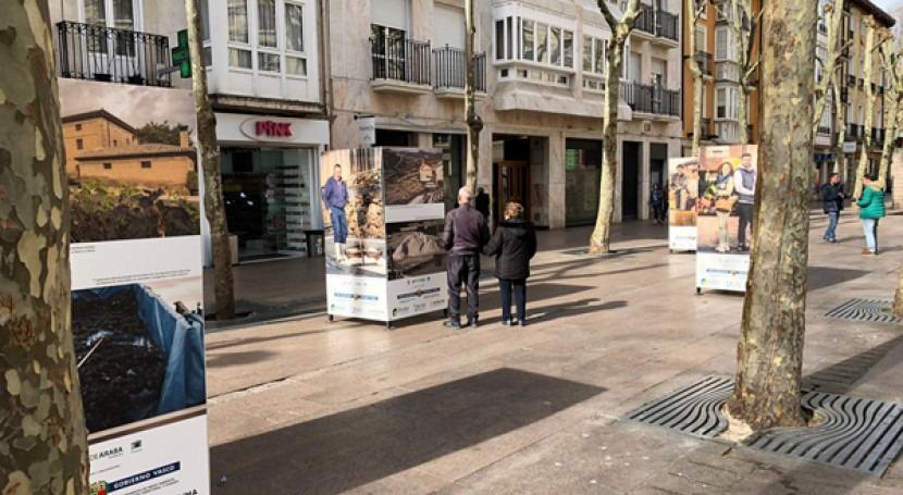 Comienza Vitoria exposición fotográfica Berdearaba