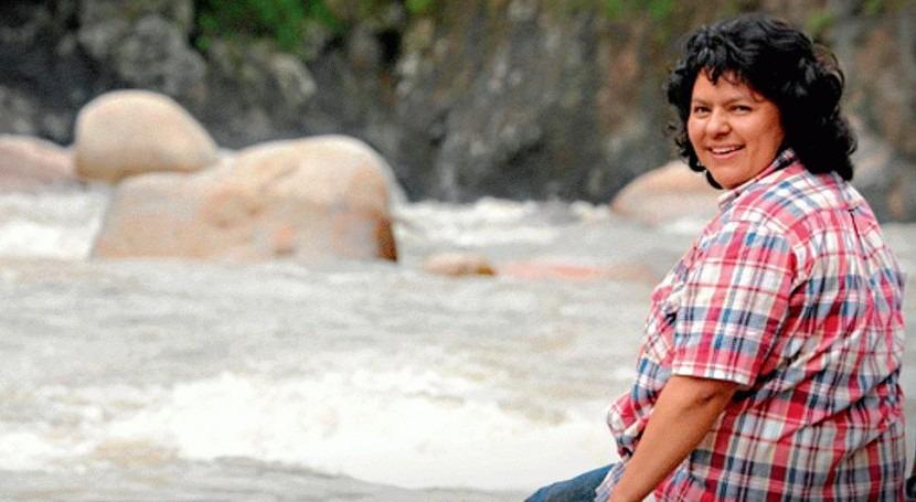 activista hondureña Berta Cáceres fue asesinada causa trabajo