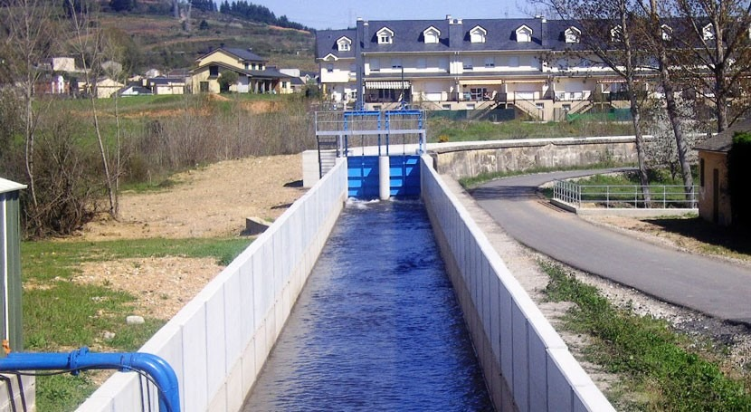 Impulso conexión saneamiento agua Cabañas al Bierzo León