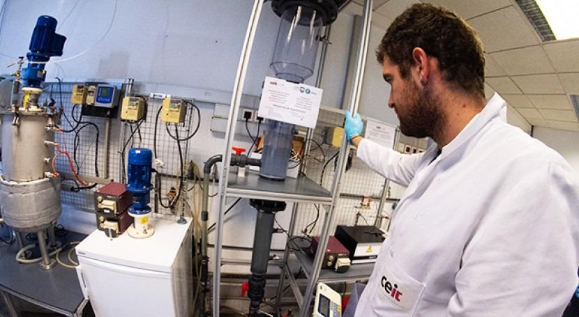 Ceit-IK4 recupera fósforo presente aguas residuales forma fertilizante