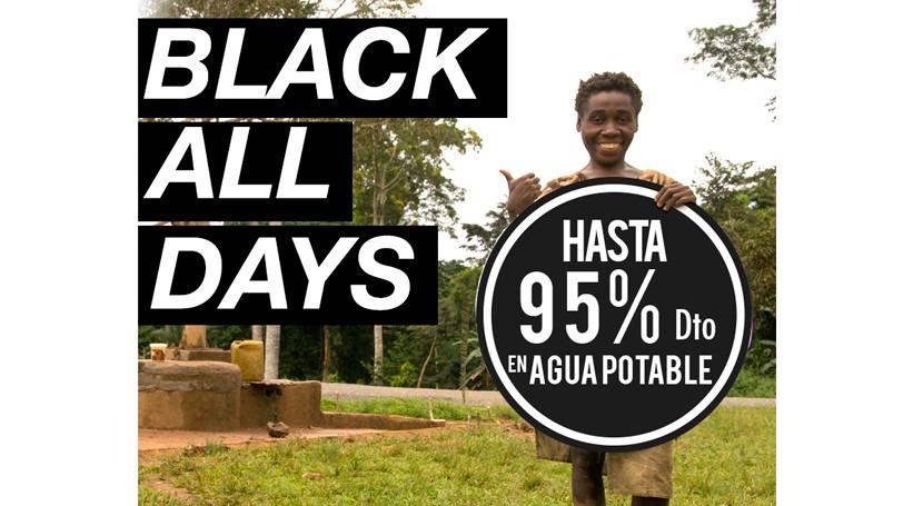 Black Friday, compra pozo agua potable descuento