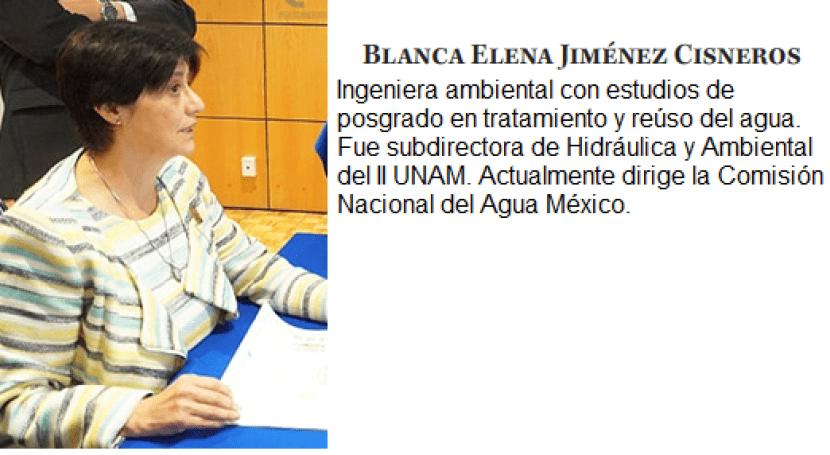 Entrevista Blanca Jiménez Cisneros: manejo justo y equitativo agua todos usuarios