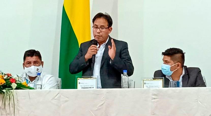 gobierno Bolivia invierte proyectos agua nivel nacional