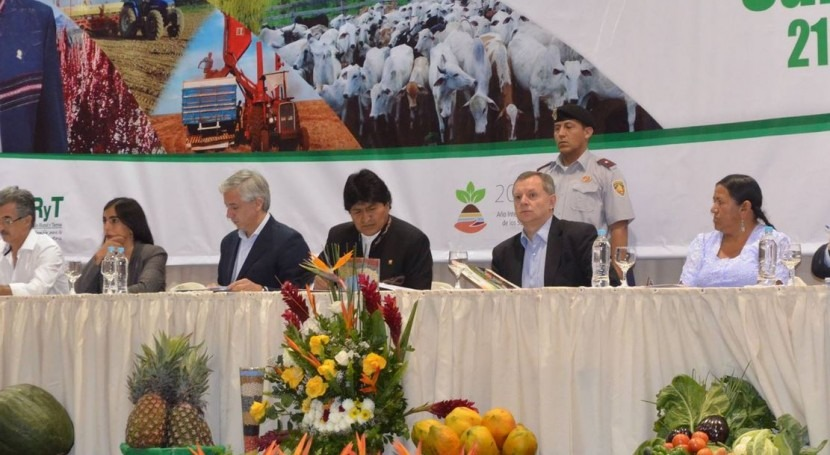 """Bolivia declarará periodo 2015 – 2020 como """"Década riego"""""""