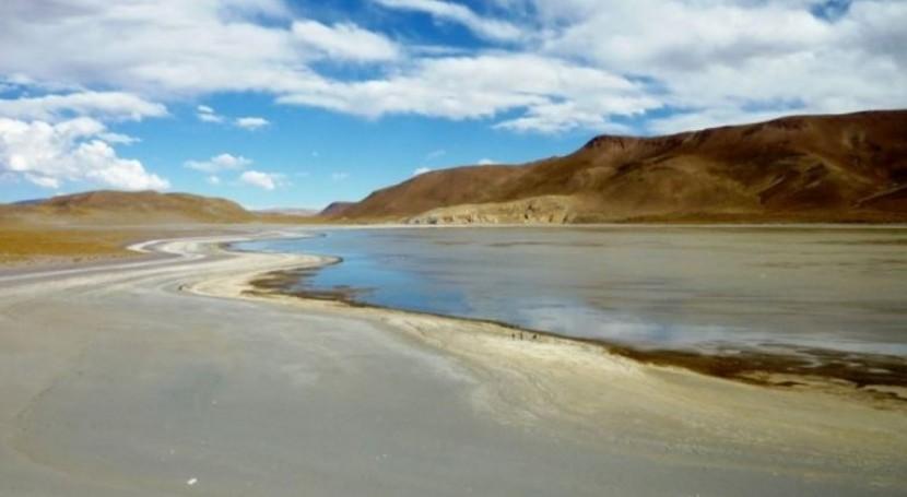 lagunas puneñas, peligro sequía causada cambio climático