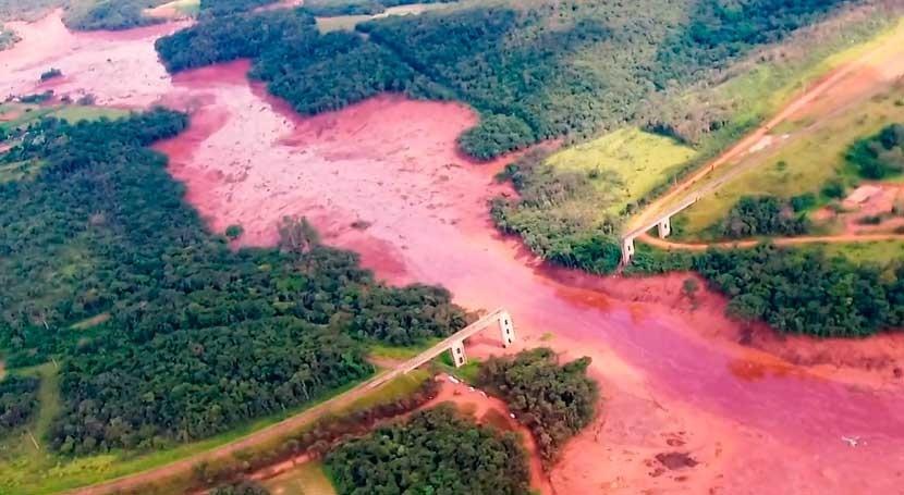 fallecidos rotura presa brasileña Brumadinho ascienden 150