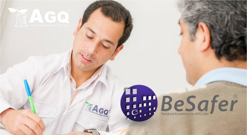 BeSafer, más avanzada plataforma online resultados analíticos AGQ Labs