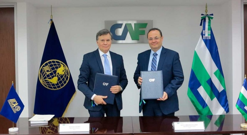 IICA y CAF impulsarán modernización agricultura mediante alianza estratégica