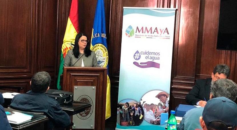 Bolivia fortalece capacidades humanas tratamiento aguas residuales