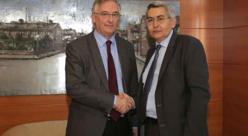 Caja Rural Teruel, primer colaborador Instituto Aragonés Agua recaudar ICA
