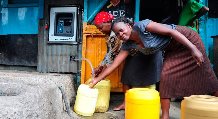 """cajeros automáticos agua"" llegan Kenia"