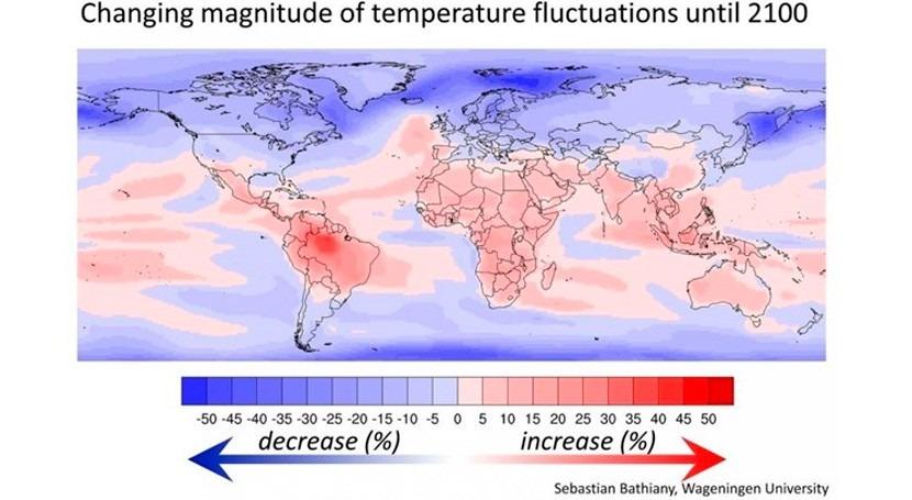 calentamiento global se cebará países más pobres