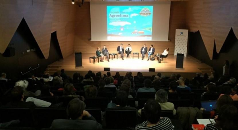 Aragón estudia crear grupo trabajo agroalimentación y cambio climático