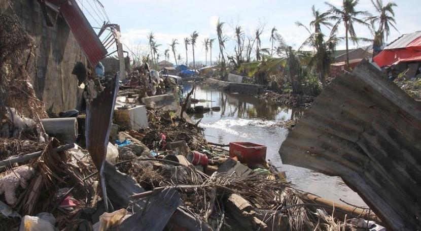 Destrucción en Tacloban, Filipinas. Foto: OCHA/Gemma Cortes